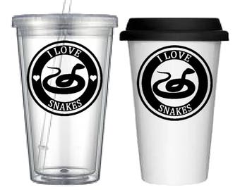 Cup:Snake(4 designs to choose from!)