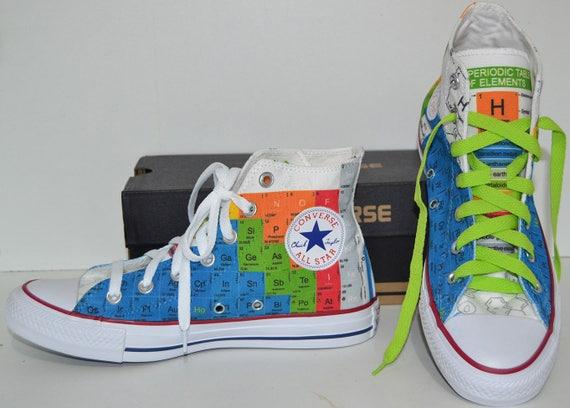 Periodic table custom shoes custom converse personalized like this item urtaz Gallery