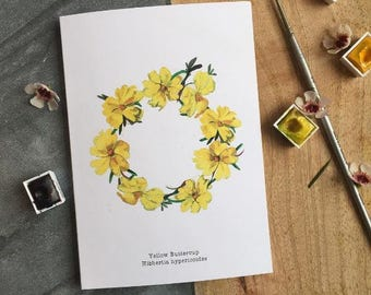 A6 Buttercup Greeting Card
