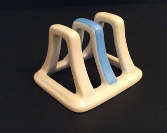 VTG Japanese Ceramic toast-stand
