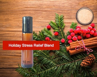 Holiday Stress Blend - Essential Oil Blend Roll-on