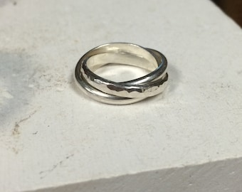 Sterling Silver Rolling Rings