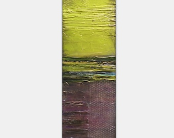 Heavily Textured Abstract Jewel Tone Painting, contemporary modern wall art, office art USA Shipping Free