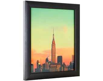 "Craig Frames, 8x8 Inch Brazilian Walnut Brown Picture Frame, 1"" Wide (232477780808)"