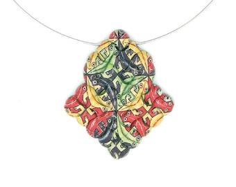 Escher Necklace