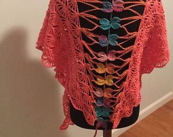 Butterfly Spring Summer Shawl