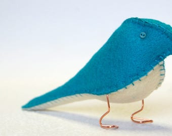 Fabric Finch – Electric Blue