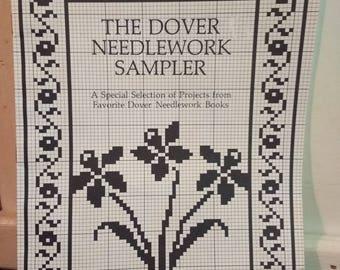 Dover Needlework Sampler Booklet of 43 Patterns