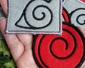 Naruto: Hidden leaf and Uzumaki clan symbols  Patches