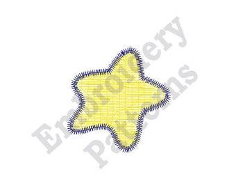 Sea Star - Machine Embroidery Design