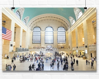 Grand Central Station in NYC  |  NYC Wall Art - Photography - Print - New York City - Fine Art - Photo - Wall Art