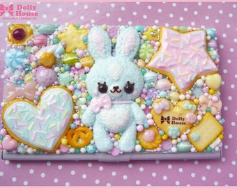 Kawaii Sweet Bunny Business or Credit Card Holder Case by Dolly House