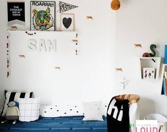 Vinyl Wall Sticker Decal Art - Tigers