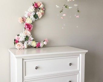 Flower Mobile, Baby Mobile, Floral Mobile, Nursery Mobile, Flower Chandelier, Crib Mobile, Girl Mobile, Baby Chandelier, Boho Dreamcatcher