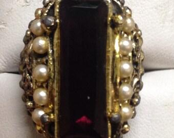 Beautiful Vintage Adjustable Ring