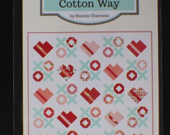 Love You Most - Quilt Pattern - Cotton Way - Bonnie And Camille Pattern 1004