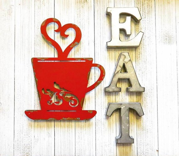 Kitchen Decor Coffee Sign Rustic Fall Decor Wall Decor For