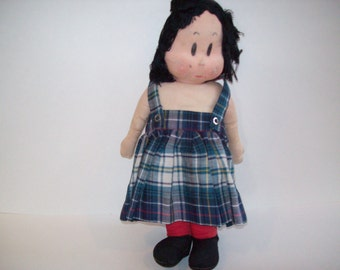 Vintage Little Lulu Doll from 1940's,  Collectible Little Lulu Doll, Vintage  Soft Toy