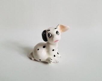 Vintage Walt Disney Productions Japan 101 Dalmations Figurine