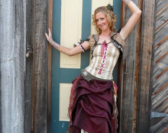 Steampunk Bolero Shrug Tribal Bellydance