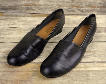 Merry Mules Womens Shoes Size 13 M Beacon Black Vintage Distressed Slip On