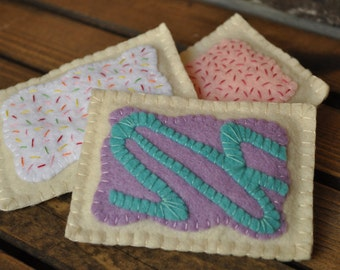 Felt Pop-Tarts - Felt Food for Pretend Play