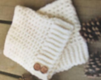 Handmade crochet warm boot cuffs, crocheted boot cuffs, warm crochet boot cuffs