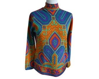 LEONARD FASHION - vintage size 38/40FR sweater
