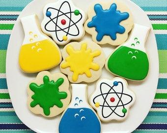 One Dozen Science Sugar Cookies