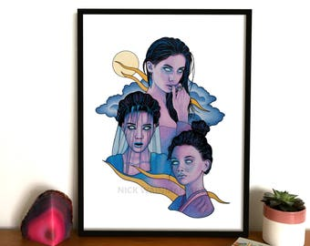 A3 Print, Wall Art **LIMITED EDITION**