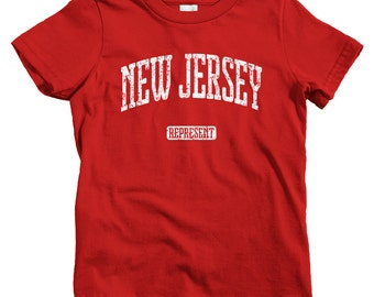 Jersey city baby etsy kids new jersey represent t shirt baby toddler and youth sizes negle Image collections