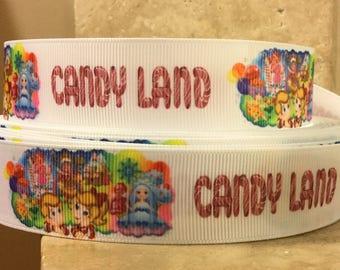 5 YDS Candy Land Kids Board Game Ribbon