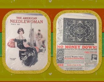 Set of 3 Early 1900's NeedleCraft magazines