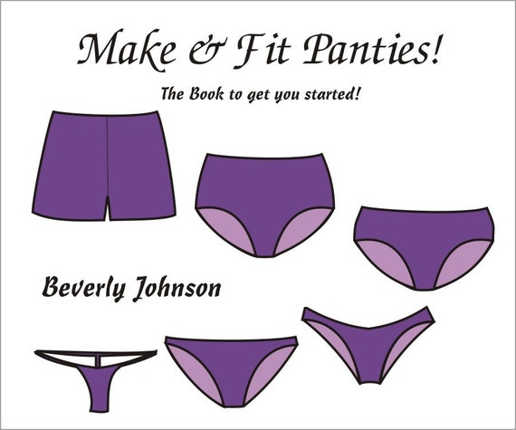 make and fit panties instruction manual by beverly johnson rh etsy com how to make an instruction manual on word how to make an instructor manual