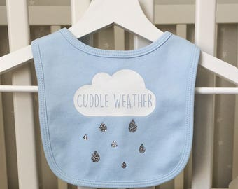 Cuddle Weather Baby Bib