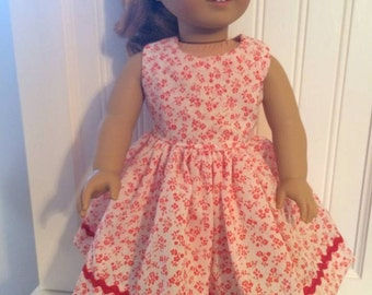 8-American girl Dress, can fit other 18' doll