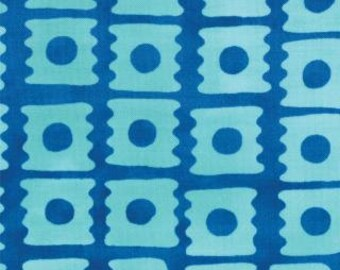 From Outside In by Malka Dubrawsky for Moda  -  E Block Cornflower - FQ Fat Quarter cotton quilt fabric 516