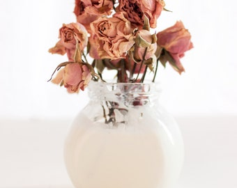 Artistic Pink Roses Bouquet