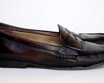 Brown Cole Haan Penny Loafers Size 10