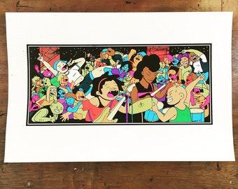 Everyone, Together - 10 Color Screenprint