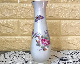 Floral/ Butterfly Vase