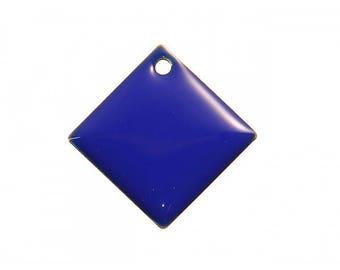 5 charm Argyle 24 mm royal blue sequins