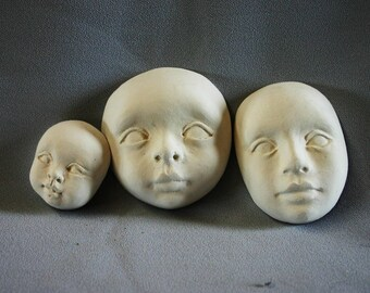 PDF Tutorial Turning a Face Mask Into a Complete Head for Dollmakers
