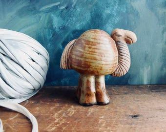 Cute Camel Art, Lisa Larsson, vintage animal figurine, Pottery, Ceramic Art, 1960's Menagerie, Swedish Art, Mid Century, Clay,