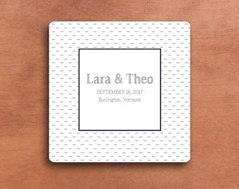 Save the Date - Hand Stitching Pattern (5x5)