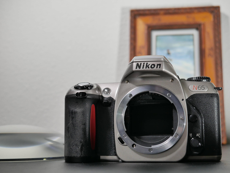 nikon n65 35mm slr film camera body only manual auto shooting rh etsy com nikon n65 manual rewind nikon n65 manual free