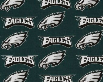 MadieBs Eagles fitted Crib Sheet and Changing Pad Cover