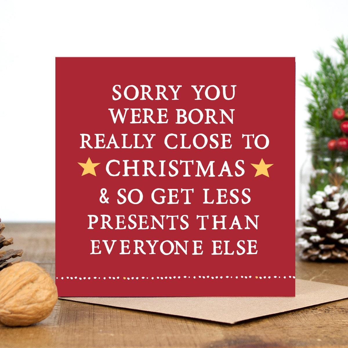Funny birthday card funny christmas card alternative zoom kristyandbryce Gallery