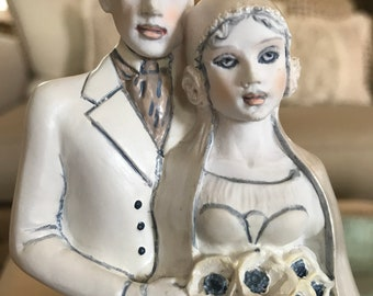 Helen Kish Love & Kishes Wedding Cake Topper Belle Epoch Figurine New Bride Groom TYCAALAK