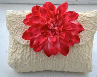Custom Bridal Clutch, Purse Clutch, Wedding Gift for Mom, Bags & Purses, Clutches and Evening Bags, Handbags,Ivory Clutch Bags